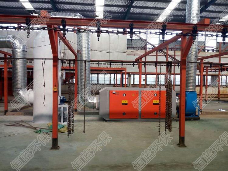 5大行业的工业废气净化处理工艺
