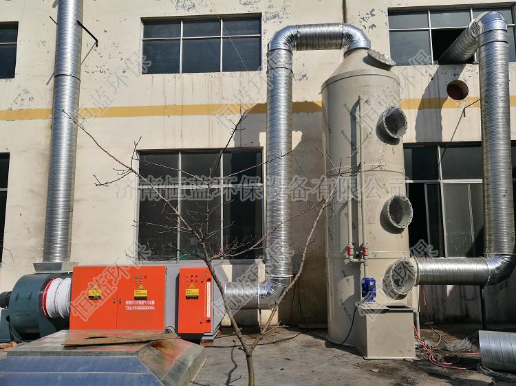 橡胶厂废气异味处理用什么设备?