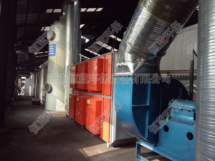连云港喷漆房废气处理工程