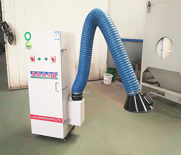 移动式焊接烟尘净化器实拍图02