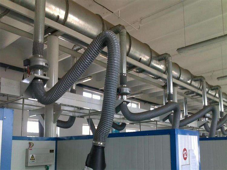 车间焊烟除尘系统