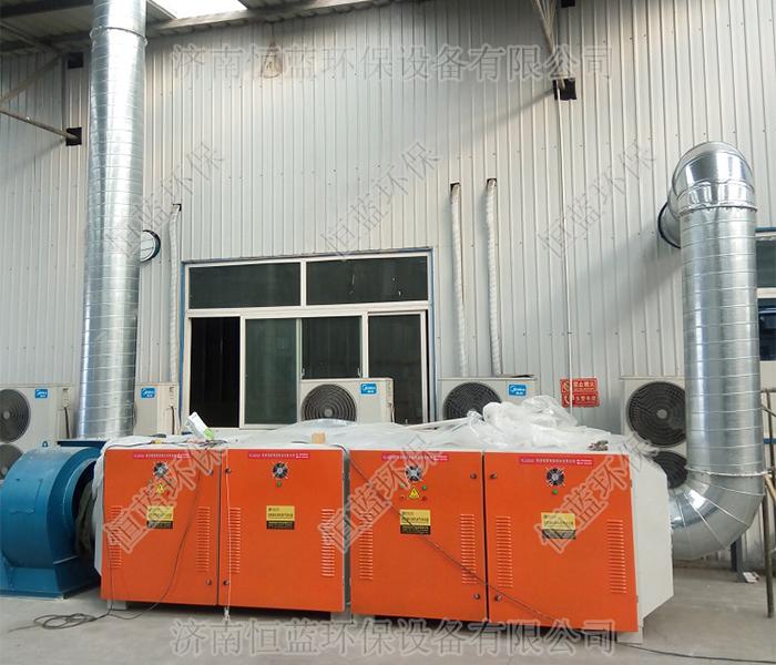塑料再生颗粒废气如何处理更能符合要求?