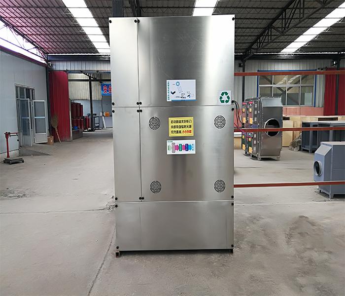 沐鸣2喷漆厂用的废气处理设备实拍图