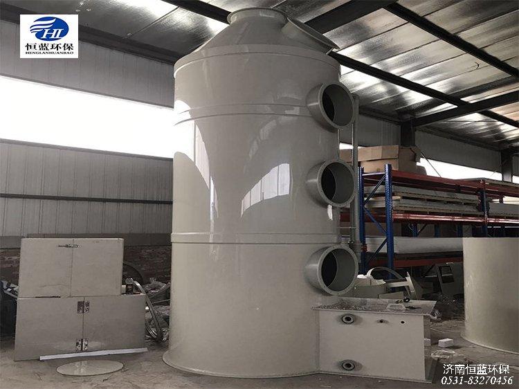 塑料废气处理用的喷淋净化塔