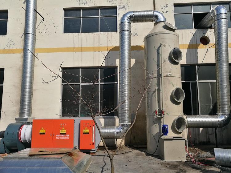 橡胶厂硫化废气处理工艺用什么设备